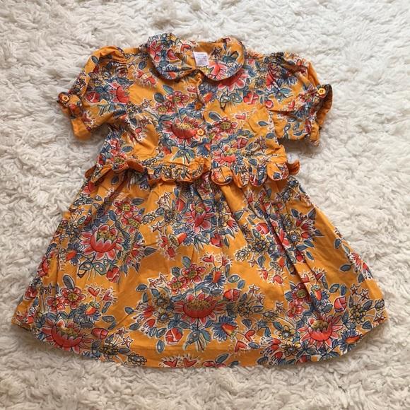 e8854280e Oilily Dresses | Vintage Floral Dress Size 104 | Poshmark